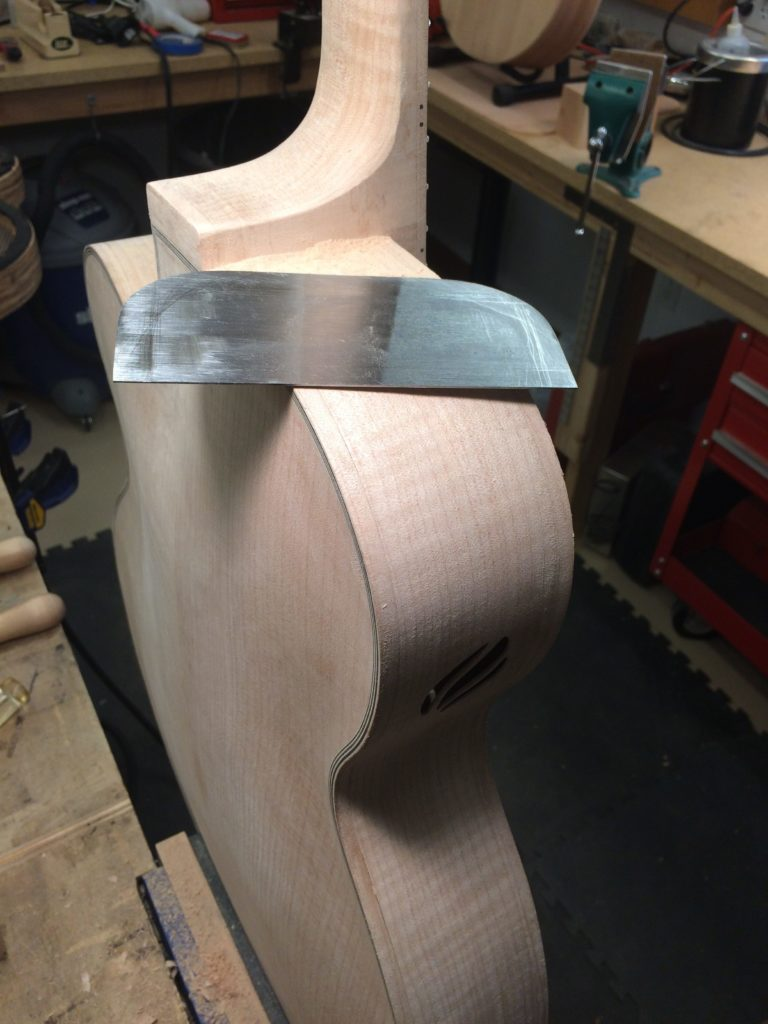 6 String Maple Binding Side Port