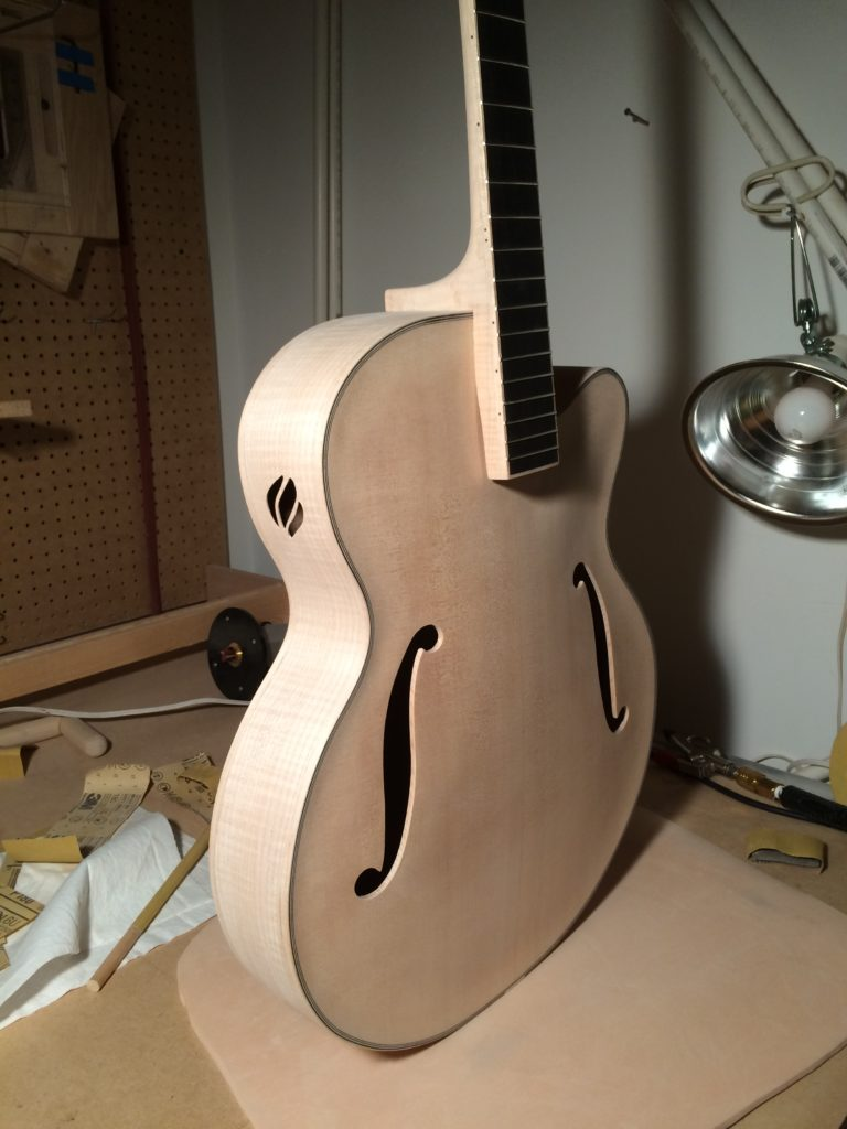 6 String Maple Binding